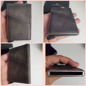 Men Minimalist Pop up Wallet